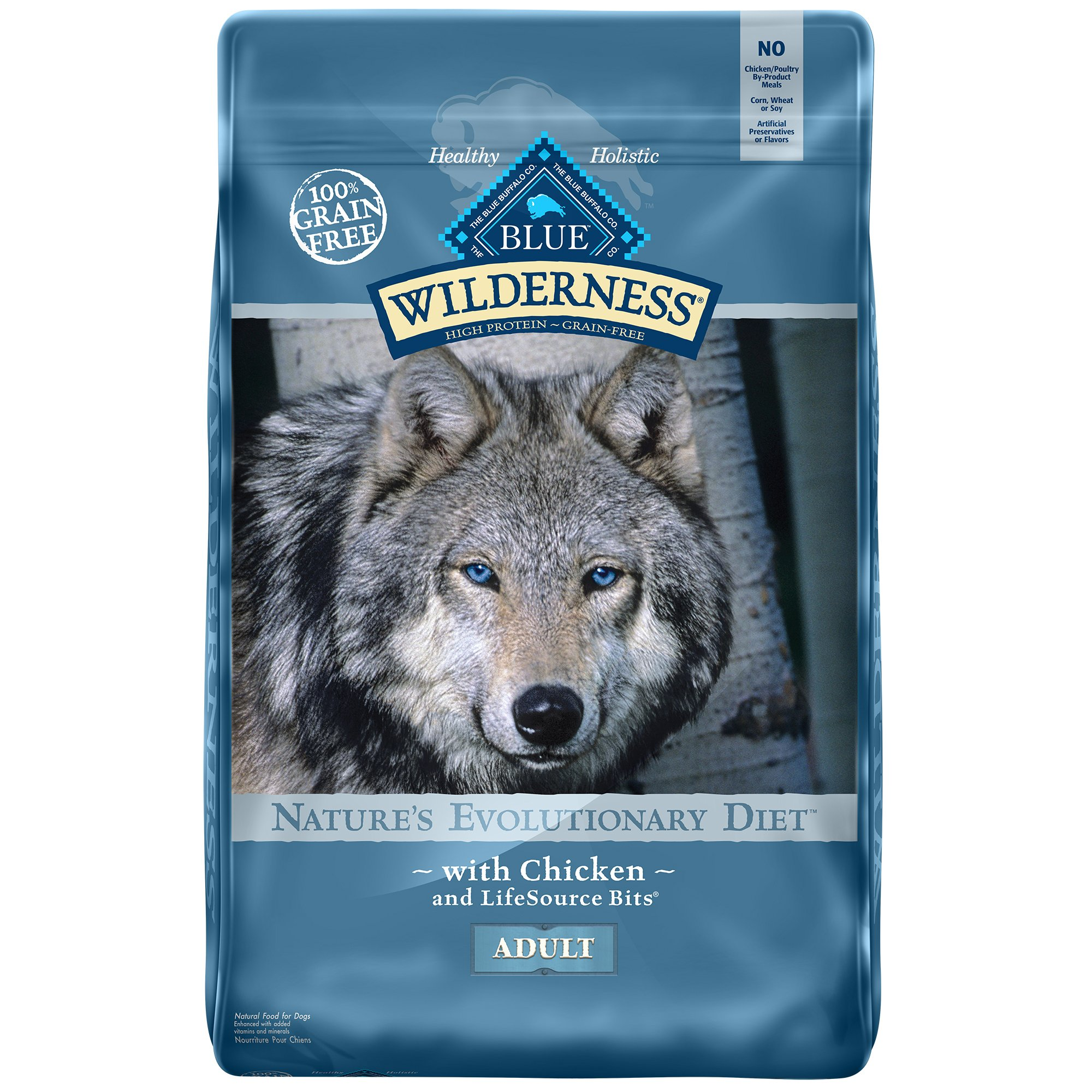 b1d30b328c2 Blue Buffalo Blue Wilderness Adult Chicken Recipe Dry Dog Food | Petco