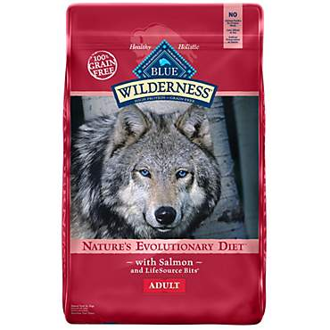 Blue Buffalo Blue Wilderness Adult Salmon Recipe Dry Dog Food