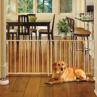 North States My Pet Extra Wide Swing Pet Gate