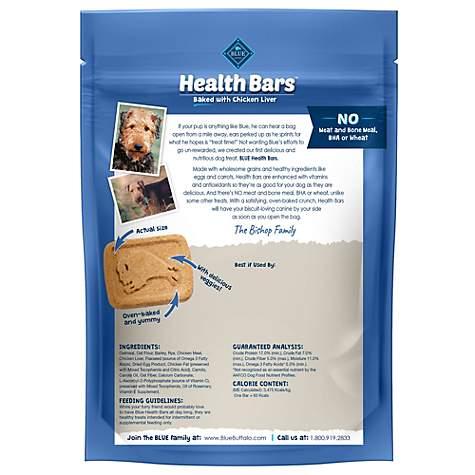 Blue Buffalo Blue Health Bars With Chicken Liver Dog Treats, 16 oz