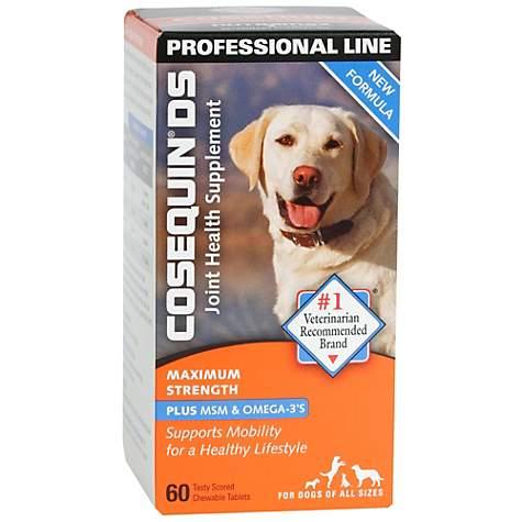 Cosequin Double Strength Plus MSM Joint Health Dog Supplement