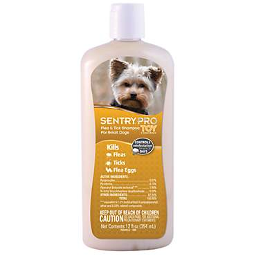 Sentry Pro Toy & Small Breed Dog Flea & Tick Shampoo
