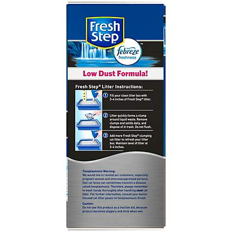 Fresh Step Scented Extreme with Febreze Premium Scoopable Clumping Cat Litter