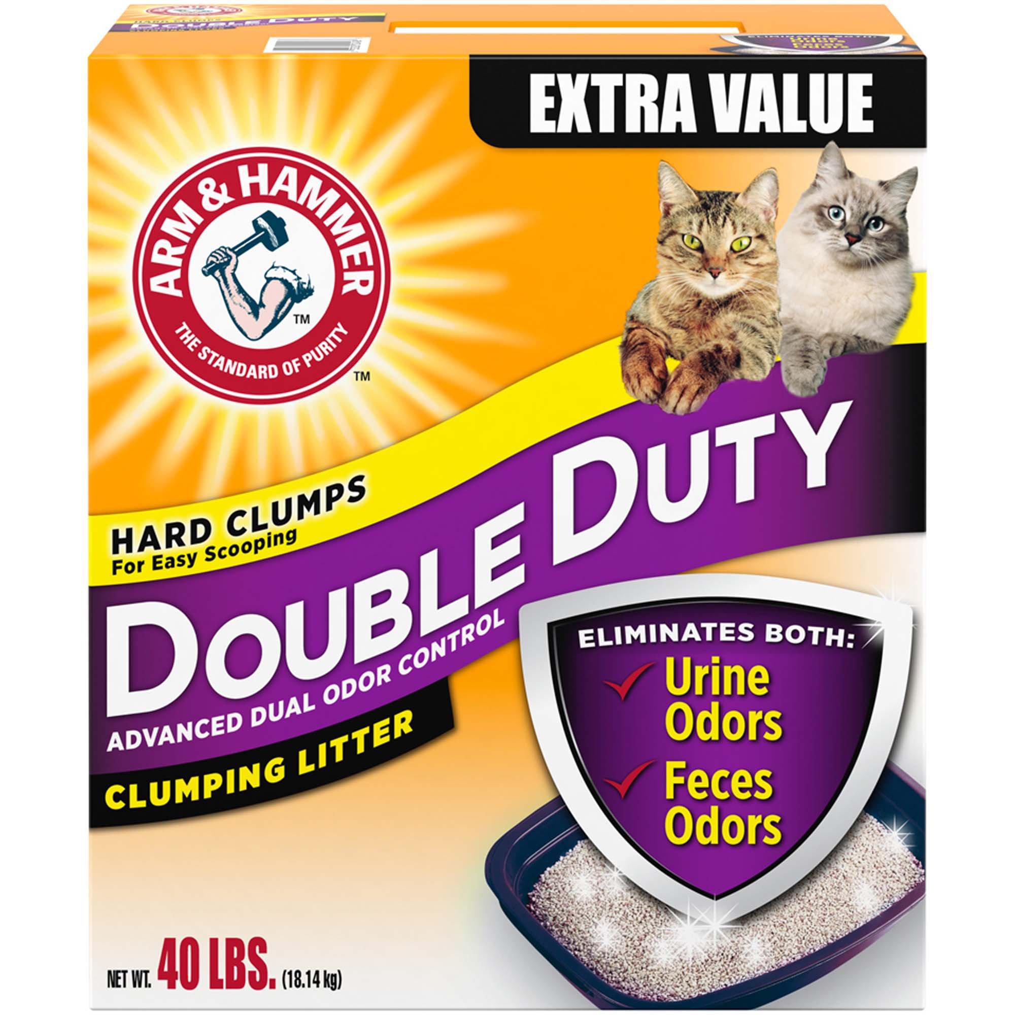 Arm Hammer Natural Double Duty Clumping Cat Litter