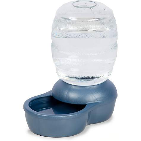 Petmate Replendish Gravity Waterer Blue Dog Bowl