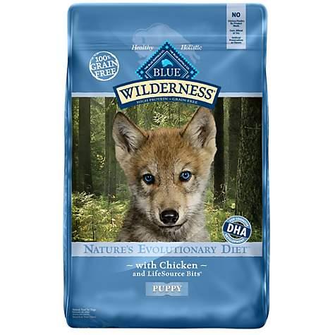 Blue Buffalo Blue Wilderness Puppy Chicken Recipe Dry Dog Food Petco