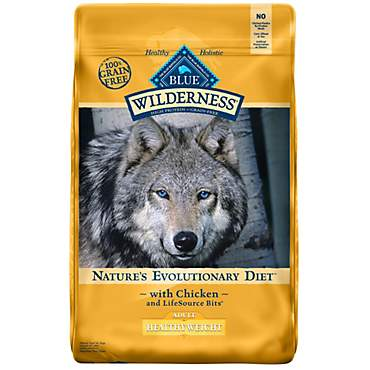 Blue Buffalo Blue Wilderness Adult Healthy Weight Chicken Recipe Dry Dog Food