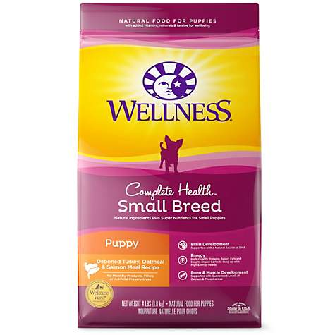 Wellness Complete Health Natural Small Breed Puppy Health Recipe Dry