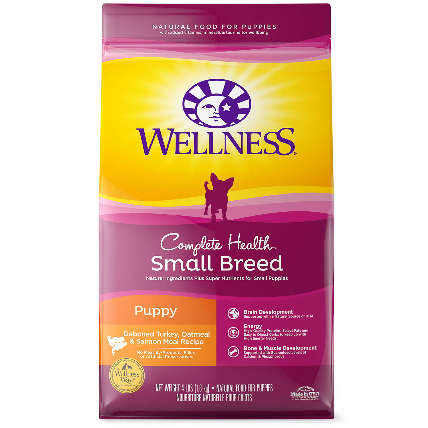 Wellness Complete Health Natural Small Breed Puppy Health Recipe Dry Dog Food