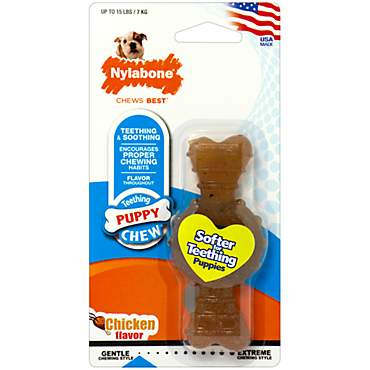 Nylabone Puppy Chew Chicken Flavored Dog Chew