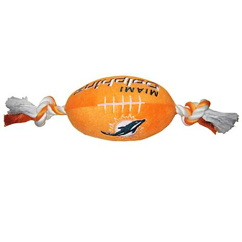 Pets First Miami Dolphins Football Toy For Dogs