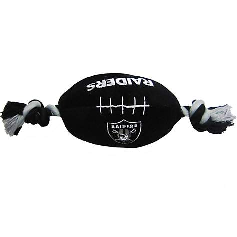 Pets First Oakland Raiders Football Toy For Dogs