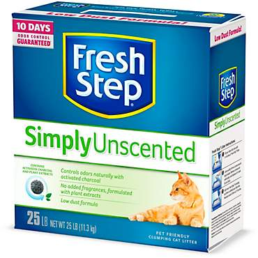 Fresh Step Simply Unscented Clumping Cat Litter