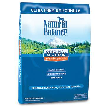 Natural Balance Original Ultra Whole Body Health Chicken, Chicken Meal, Duck Meal Formula Dry Dog Food