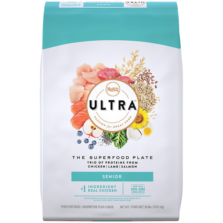 Nutro Ultra Dog Food >> UPC 079105103787 - Nutro Ultra Senior Dry Dog Food, 30 lbs. () | upcitemdb.com