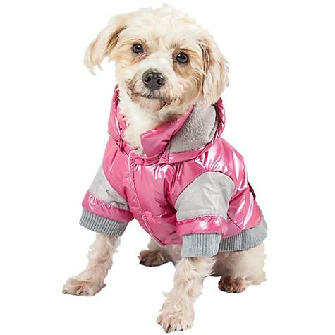 Pet Life Pink Vintage Aspen Dog Ski Jacket