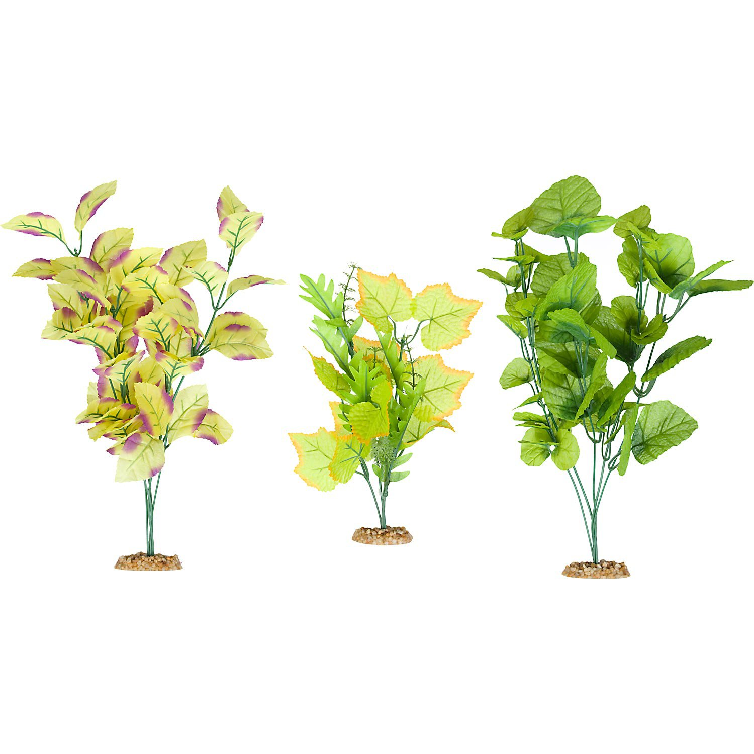 Imagitarium Background Plant Multi-Pack Silk Aquarium Plants | Petco
