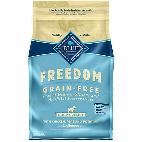Blue Buffalo Blue Freedom Grain Free Puppy Chicken Recipe Dry Dog