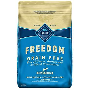 Blue Buffalo Blue Freedom Grain-Free Adult Chicken Recipe Dry Dog Food