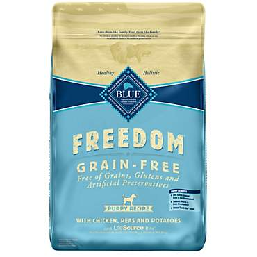 Blue Buffalo Blue Freedom Grain-Free Puppy Chicken Recipe Dry Dog Food