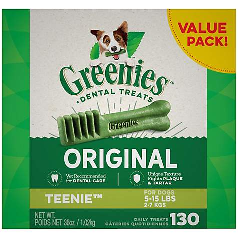 Greenies Original Teenie Dog Dental Chews