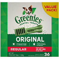 Greenies Regular Dental Dog Treats