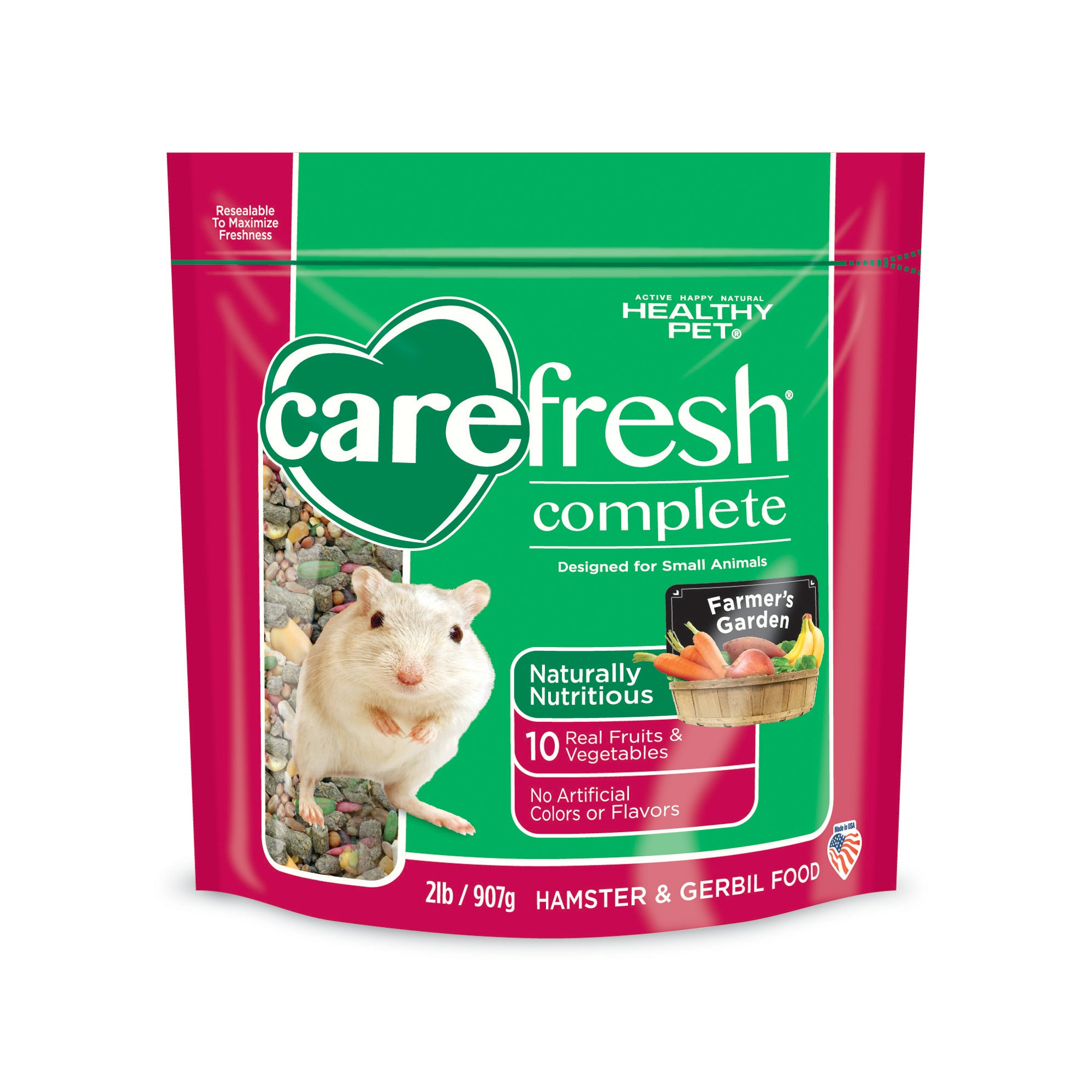 Carefresh complete menu hamster gerbil food petco for Cuisines completes