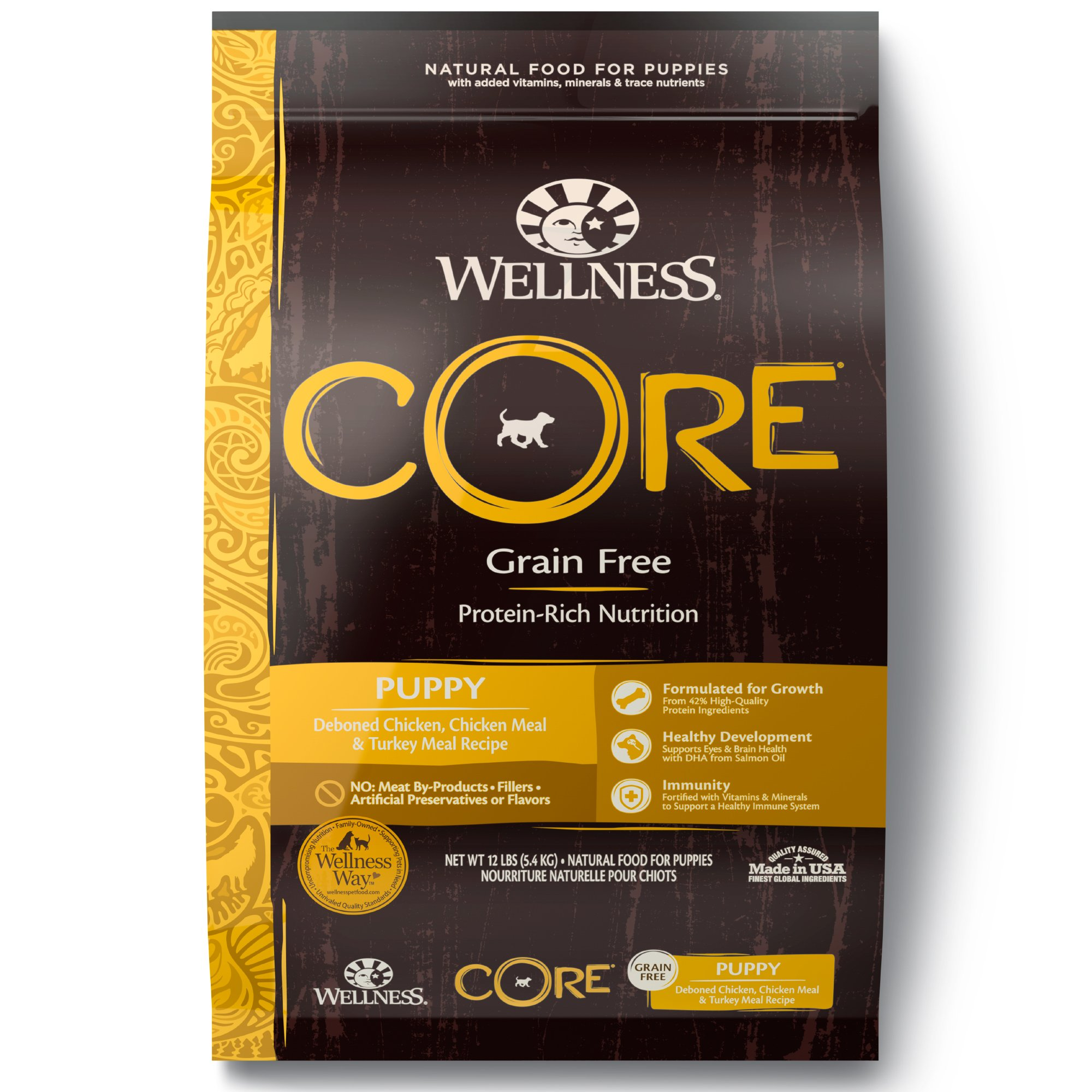 Wellness Core Natural Grain Free Puppy Health Recipe Dry Dog Food