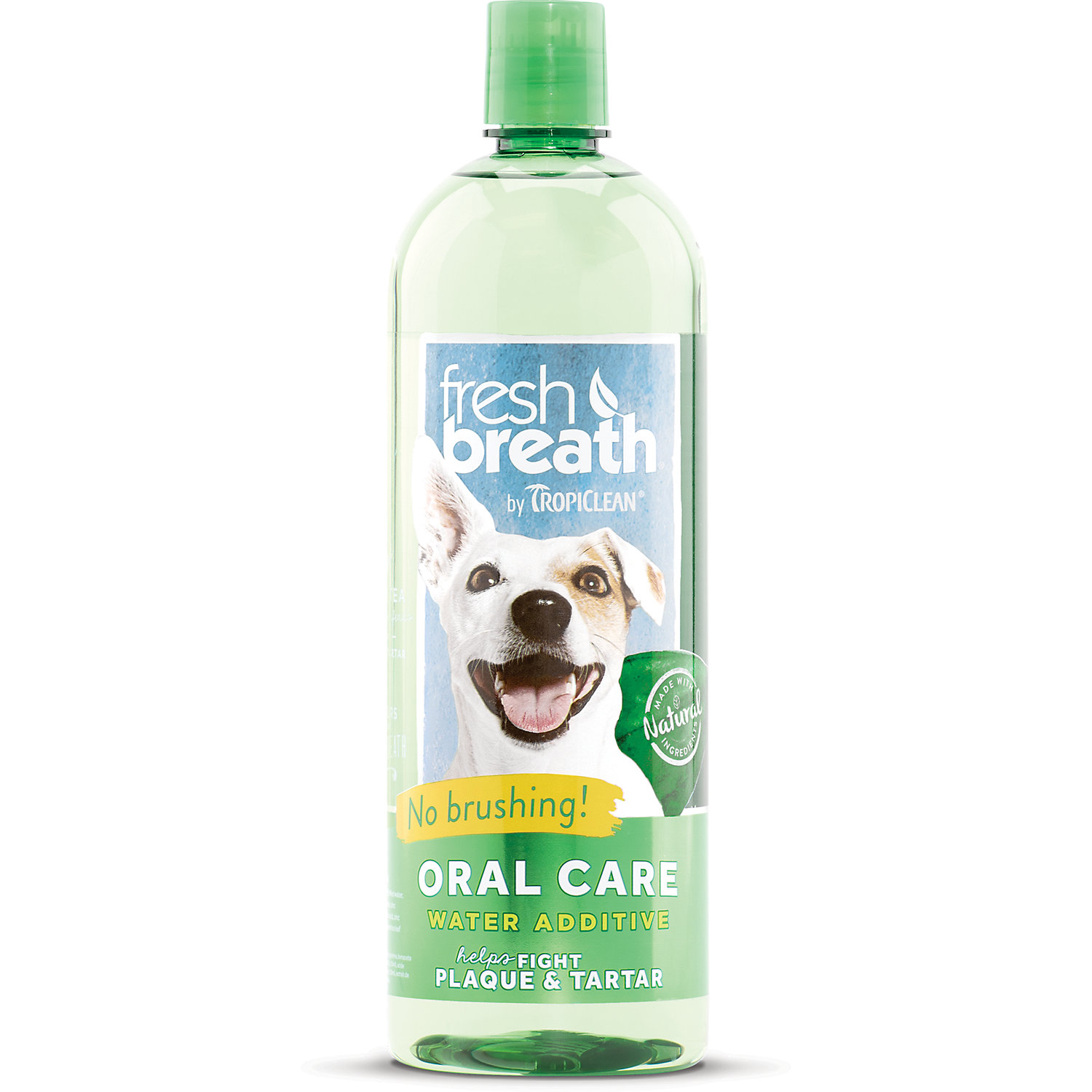 Tropiclean Fresh Breath Oral Care Water Additive For Dogs 32 Oz.
