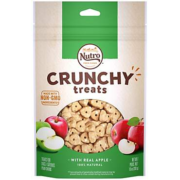 NUTRO Crunchy With Real Apple Dog Treats