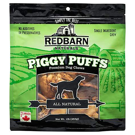 Redbarn Piggy Puffs Dog Treats