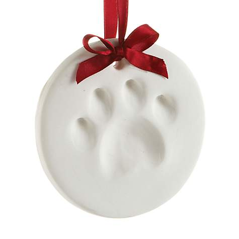 Pearhead Pawprints Holiday Ornament Impression Kit For Dogs or Cats