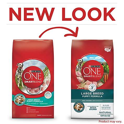 Purina One Smartblend Natural Large Breed Formula Dry Puppy Food Petco