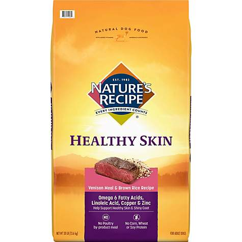 Natures recipe healthy skin venison meal brown rice recipe dry natures recipe healthy skin venison meal brown rice recipe dry dog food forumfinder Choice Image