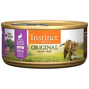 Instinct Grain-Free Rabbit Canned Cat Food by Nature's Variety