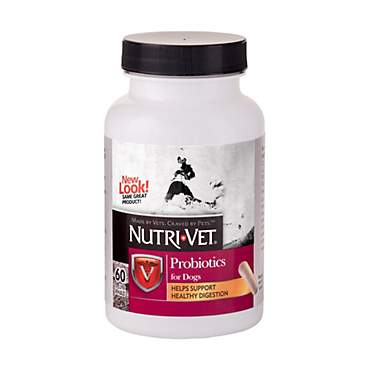 Nutri-Vet Probiotics Capsules for Dogs
