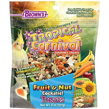 Brown's Tropical Carnival Gourmet Cockatiel Treats