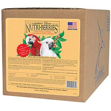 Lafeber's Nutri-Berries Macaw & Cockatoo Food