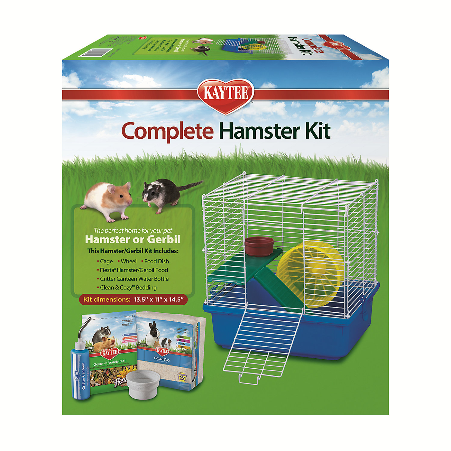 Image of Kaytee Complete Two Story Hamster Kit