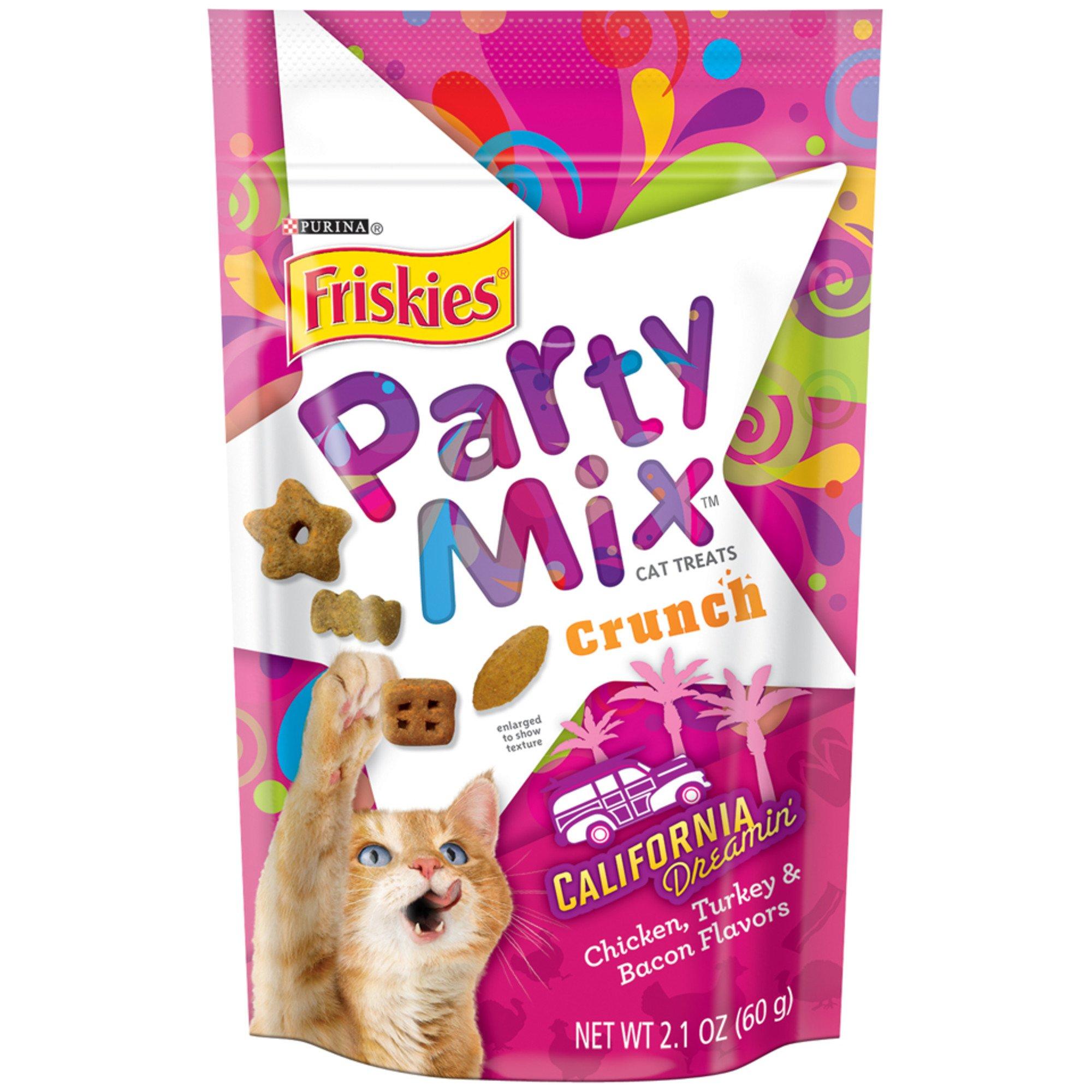 Purina Friskies Party Mix California Dreamin Cat Treats