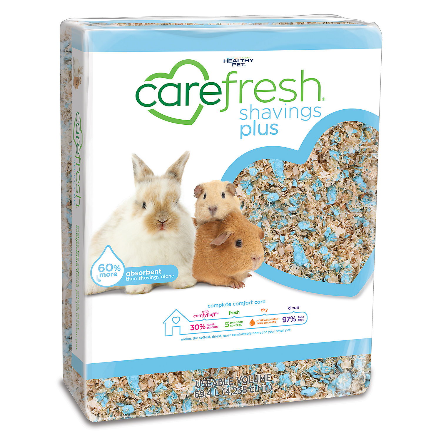 Carefresh Shavings Plus Pet Bedding 69.4 Liters