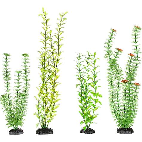Imagitarium Variety Pack Background Plastic Aquarium Plants