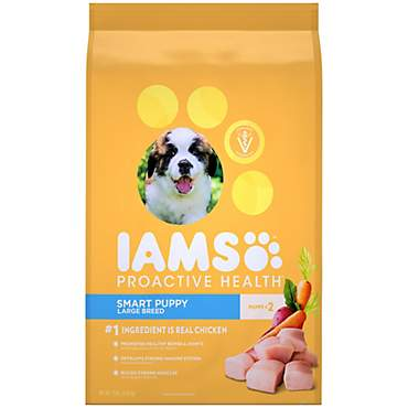 Iams ProActive Health Smart Puppy Large Breed Dry Puppy Food