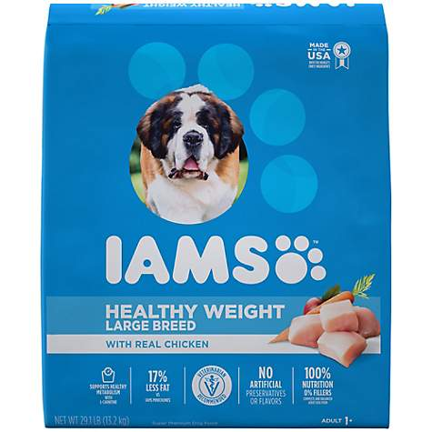 IAMS PROACTIVE HEALTH Optimal Weight Large Breed Adult Dry Dog Food