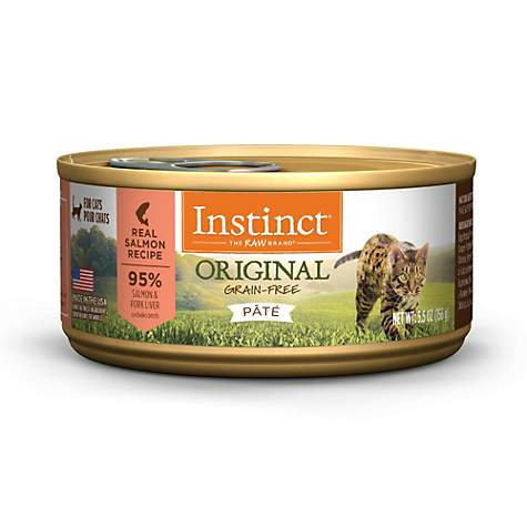 Instinct Grain-Free Salmon Canned Cat Food by Nature's Variety