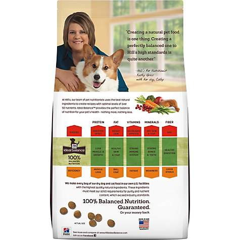 Hill S Ideal Balance Puppy Natural Chicken Brown Rice Recipe Dry