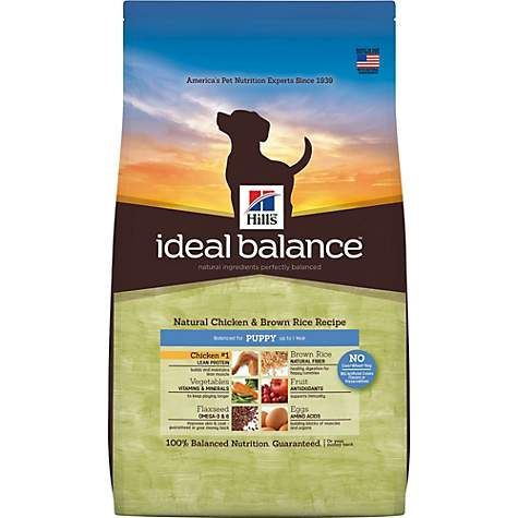 Hills ideal balance puppy natural chicken brown rice recipe dry hills ideal balance puppy natural chicken brown rice recipe dry dog food forumfinder
