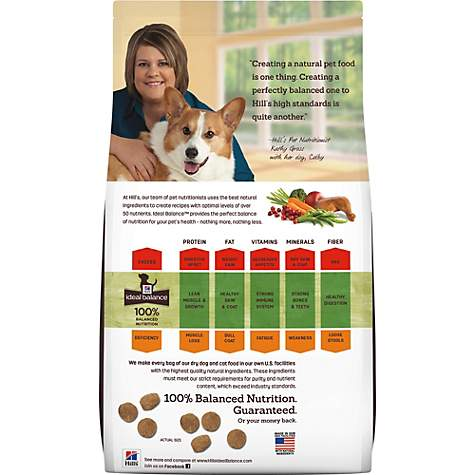 Ideal Balance Dog Food >> Hill S Ideal Balance Adult Large Breed Natural Chicken Brown Rice