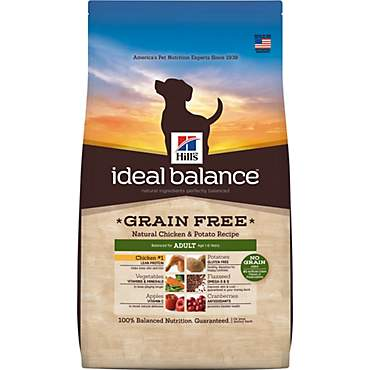 Hill's Ideal Balance Adult Grain Free Natural Chicken & Potato Recipe Dry Dog Food