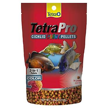 TetraColor Cichlid Food Pellets
